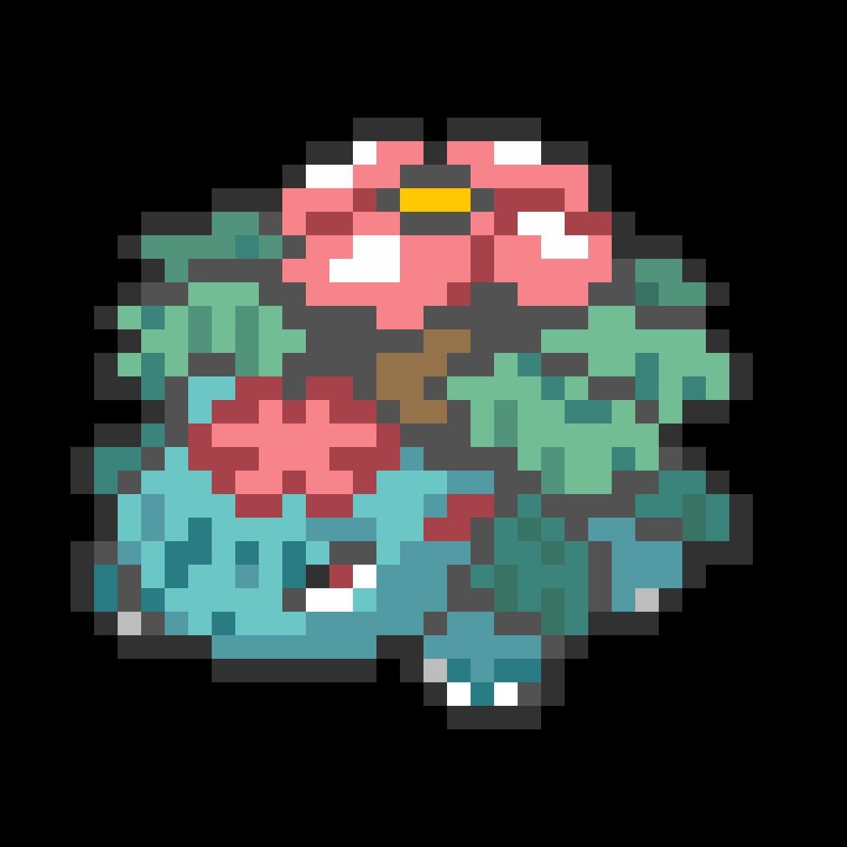 main-image-#003 Mega Venusaur Mini Sprite  by Andruru