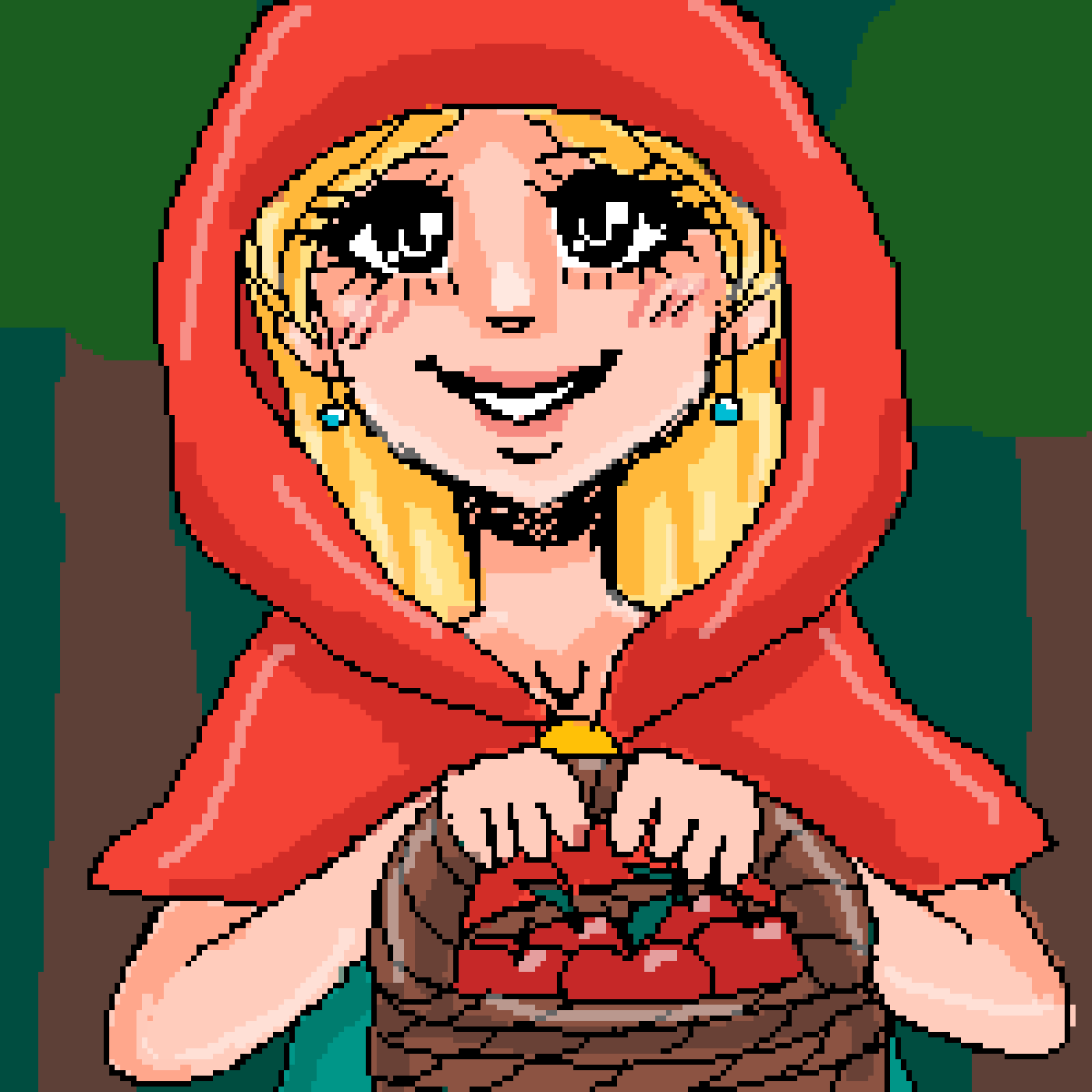 red riding hood sketch by alinamon