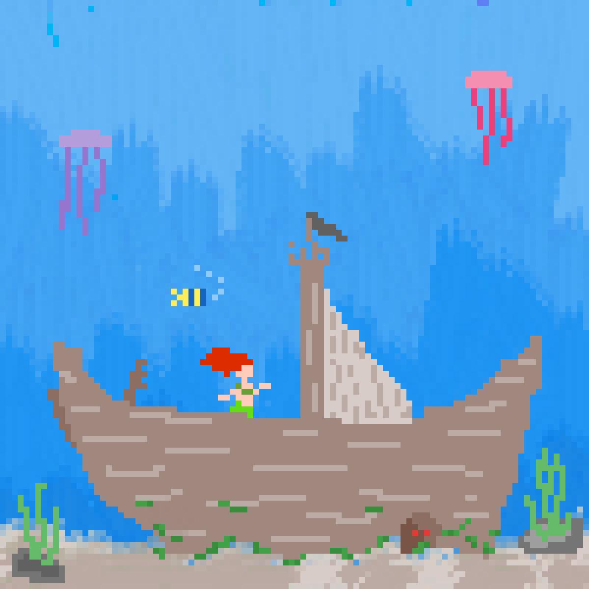 ShipWreck by MistyTail