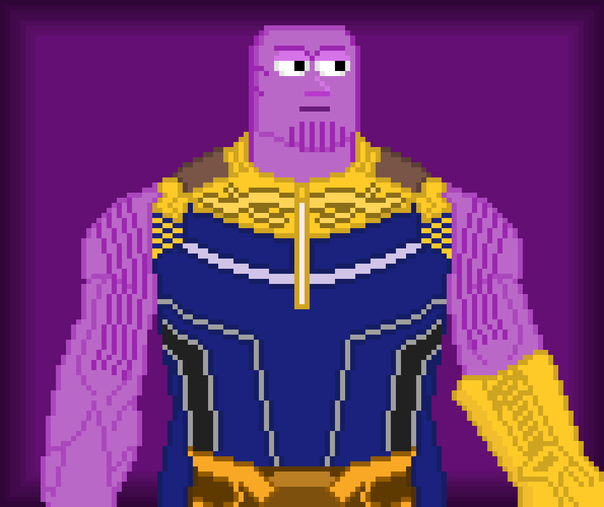 Thanos by Zarpleetus