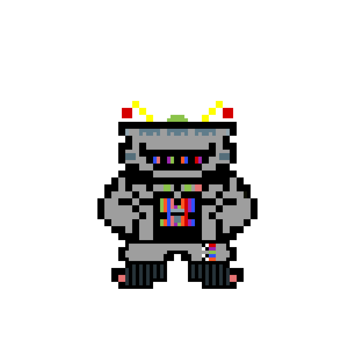 main-image-Sans the Candy Cadet  by Toastkid-Games