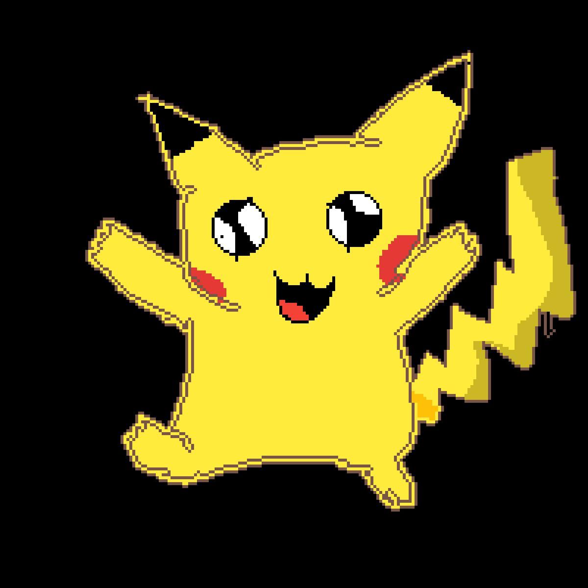 Pikachuuuuuuuuuuu by WOLVES4LIFECC