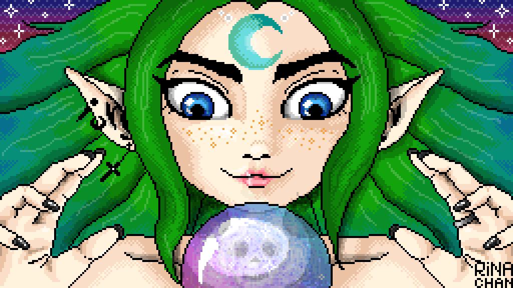 main-image-Maya the enchantress  by Rina-chan