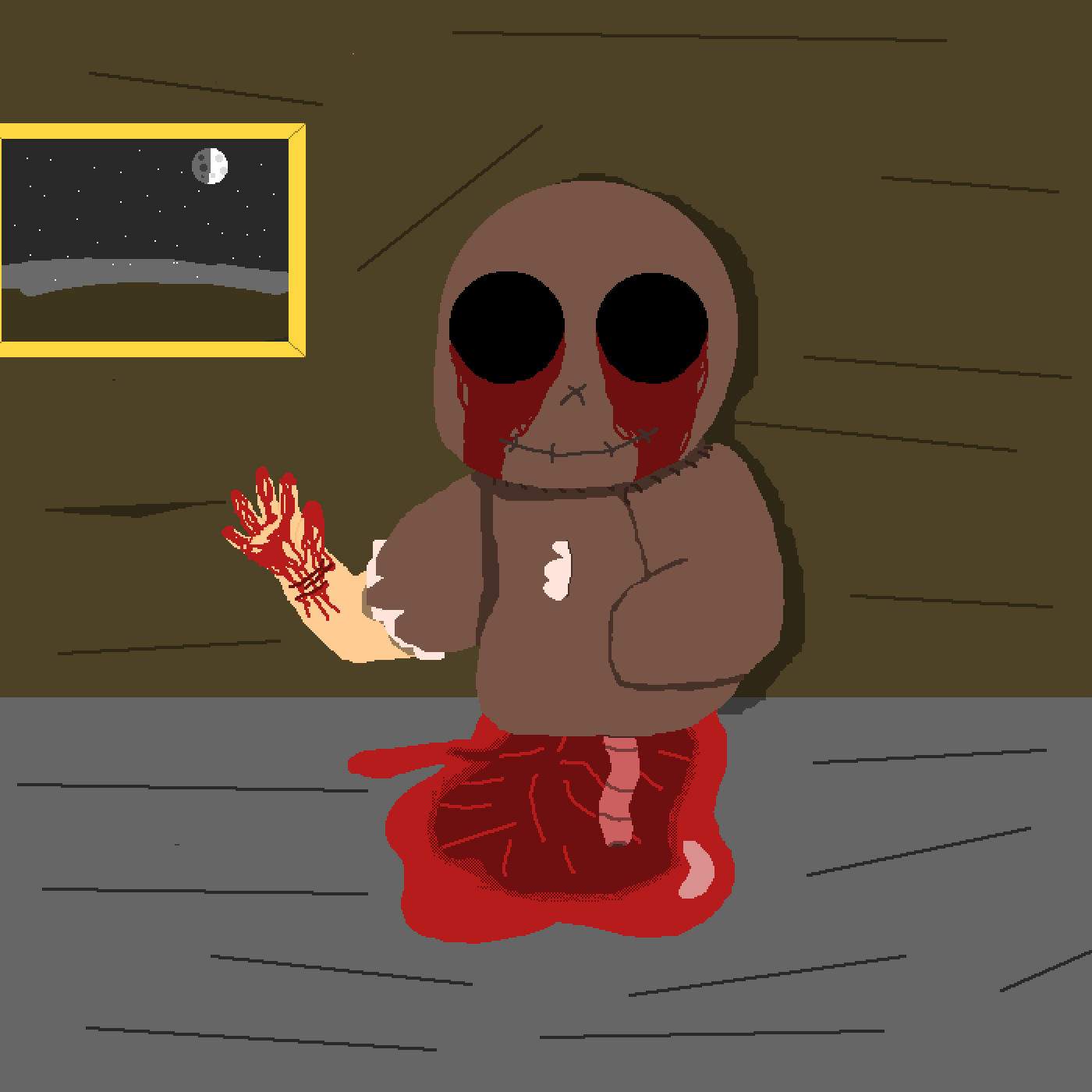 Dummy In The Attic  by BananaBunny