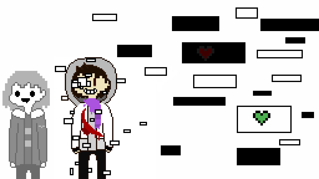 main-image-geno Ash and core continuetale frisk  by 11purple-guy11