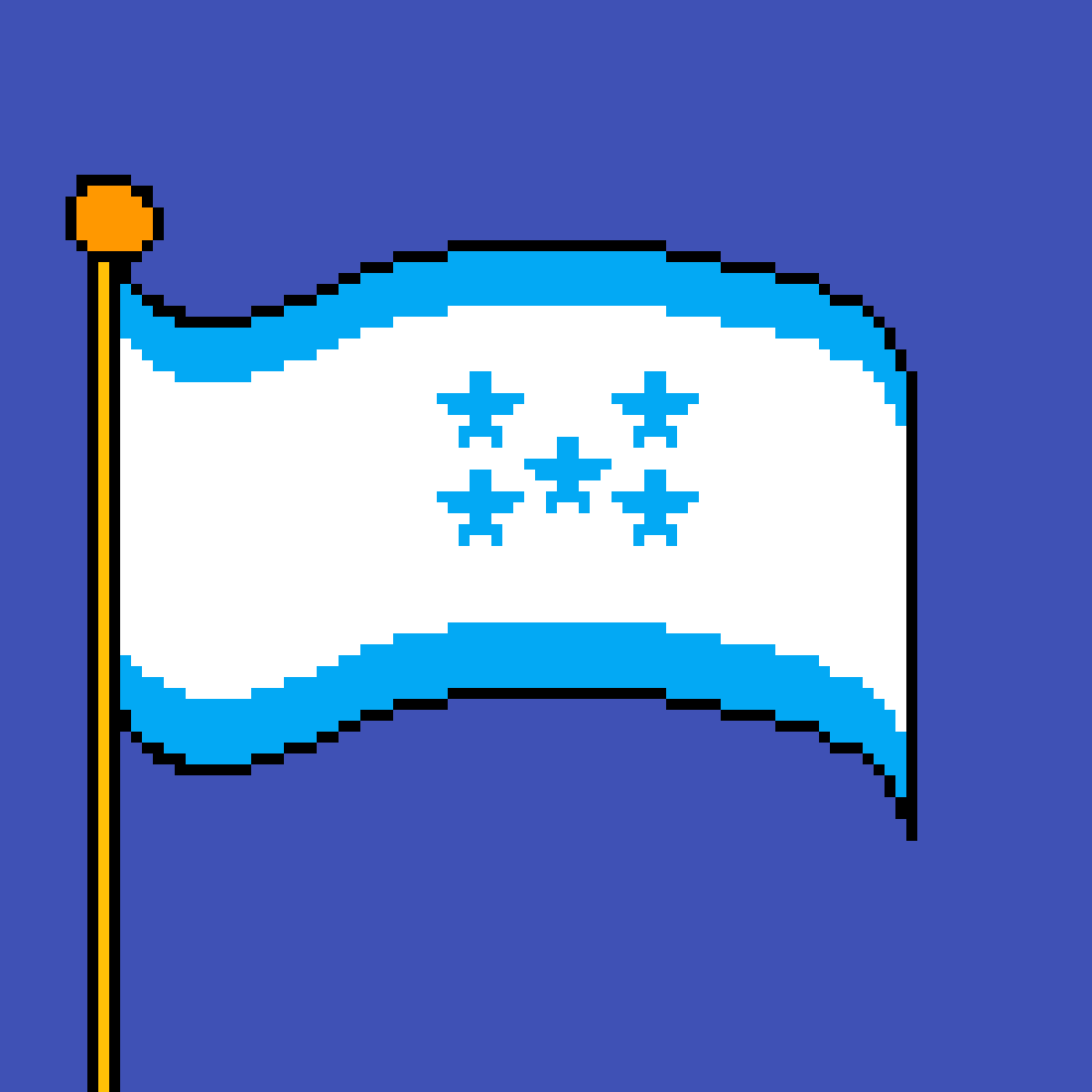 The flag of Honduras by poison-darts317