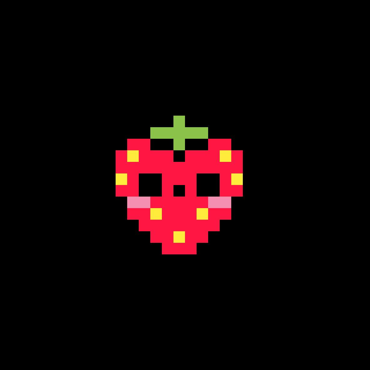 strawberry by HAHAHAHA