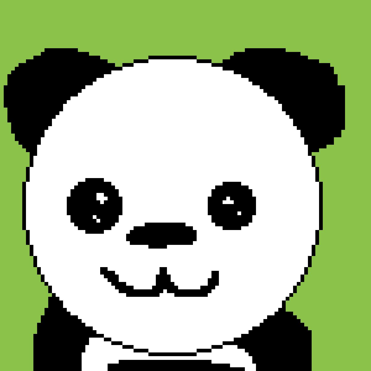 Panda by Dobbie-puffs