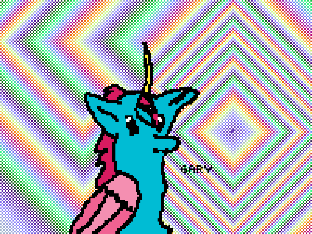 Gary the Chihuahua Alicorn by pencil-paper
