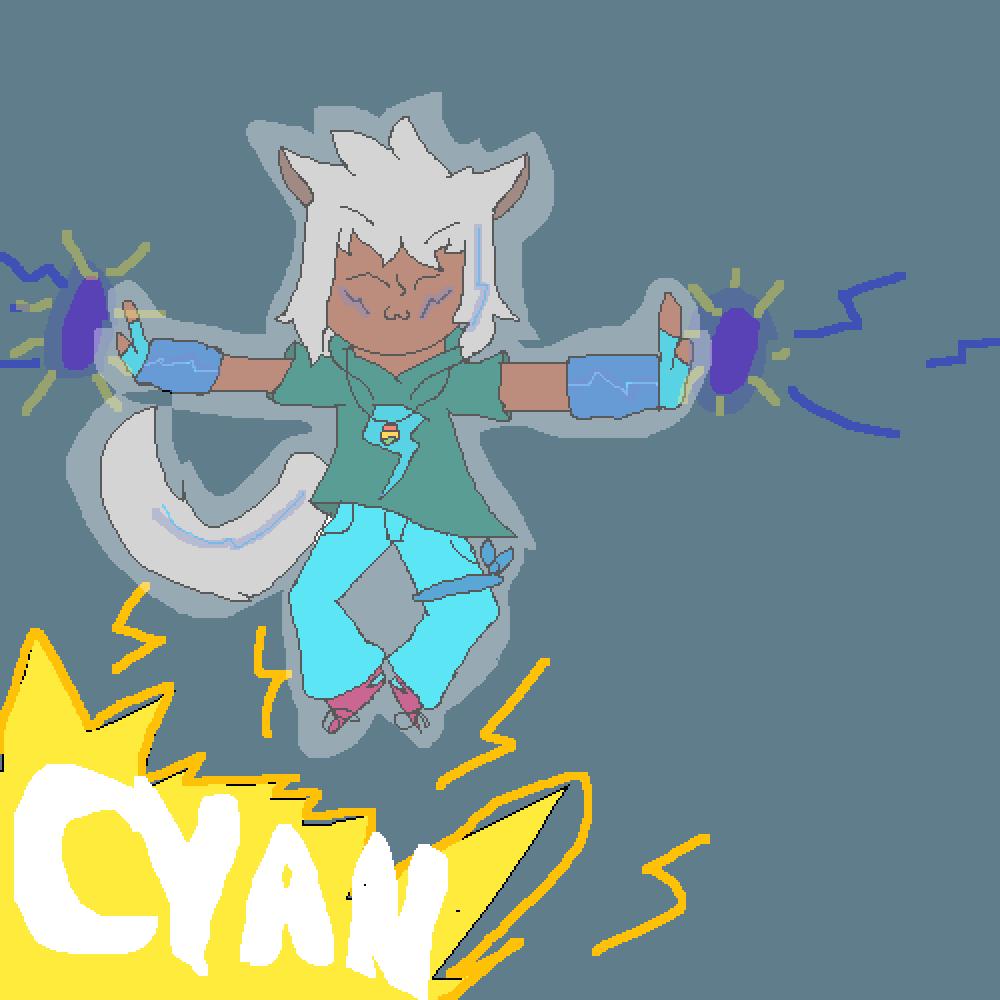 !Cyan! by XxLazyLizzy22xX