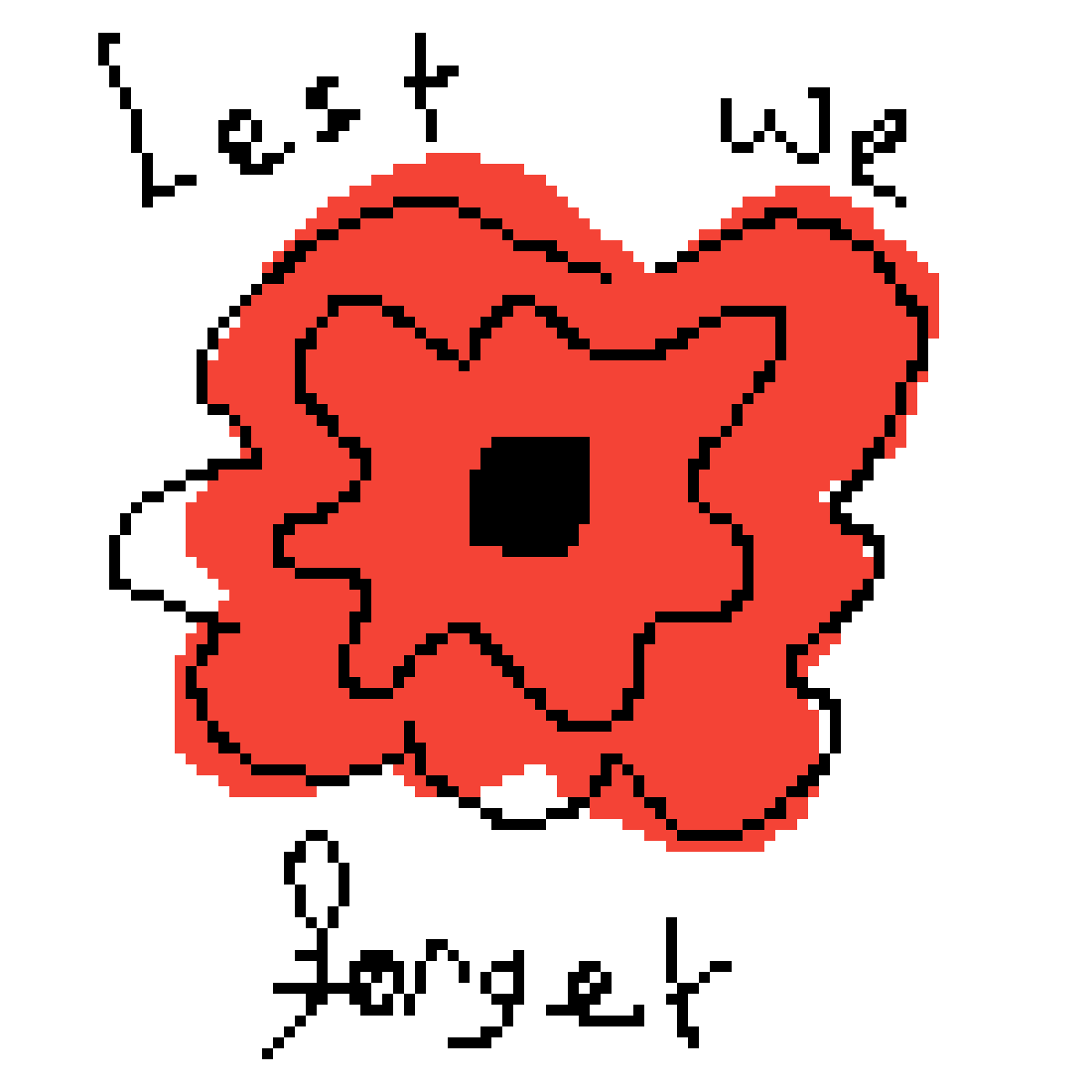 Lest We forget by peppicatred