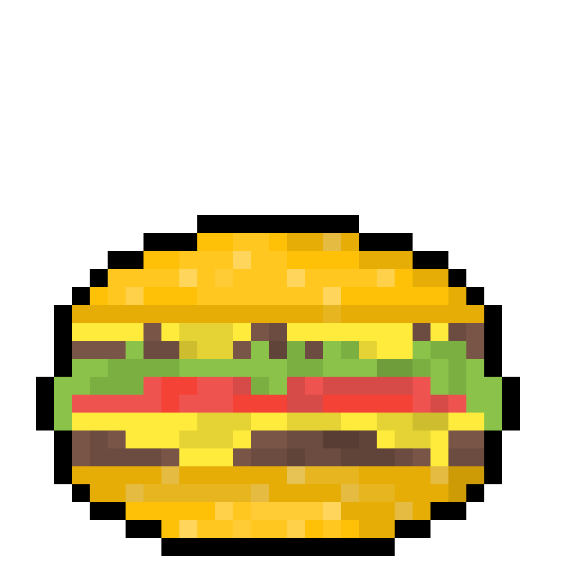 Burger by SirPixel