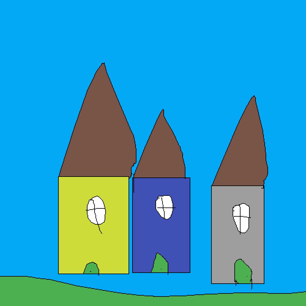 neighborhood by Izzy-does-ART