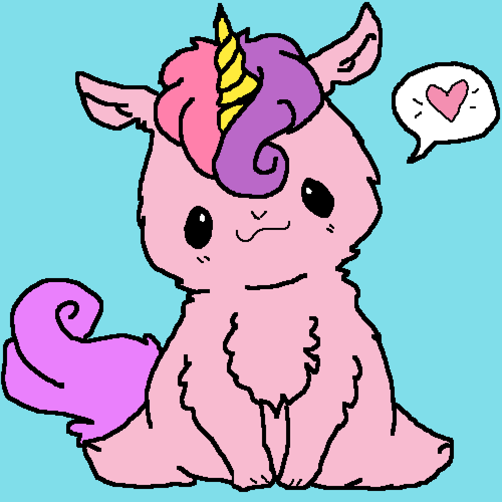 Cute unicorn UwU