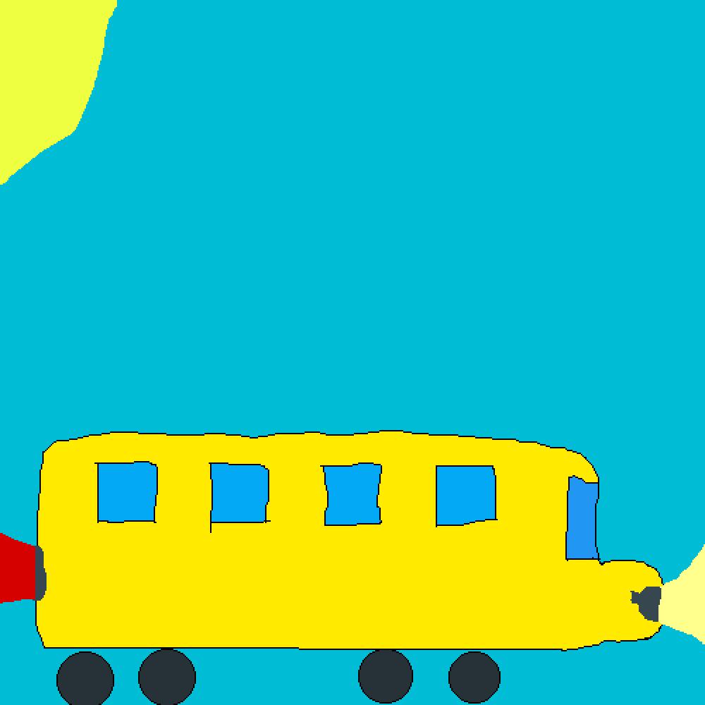 Todays challenge: School bus by rickyloka