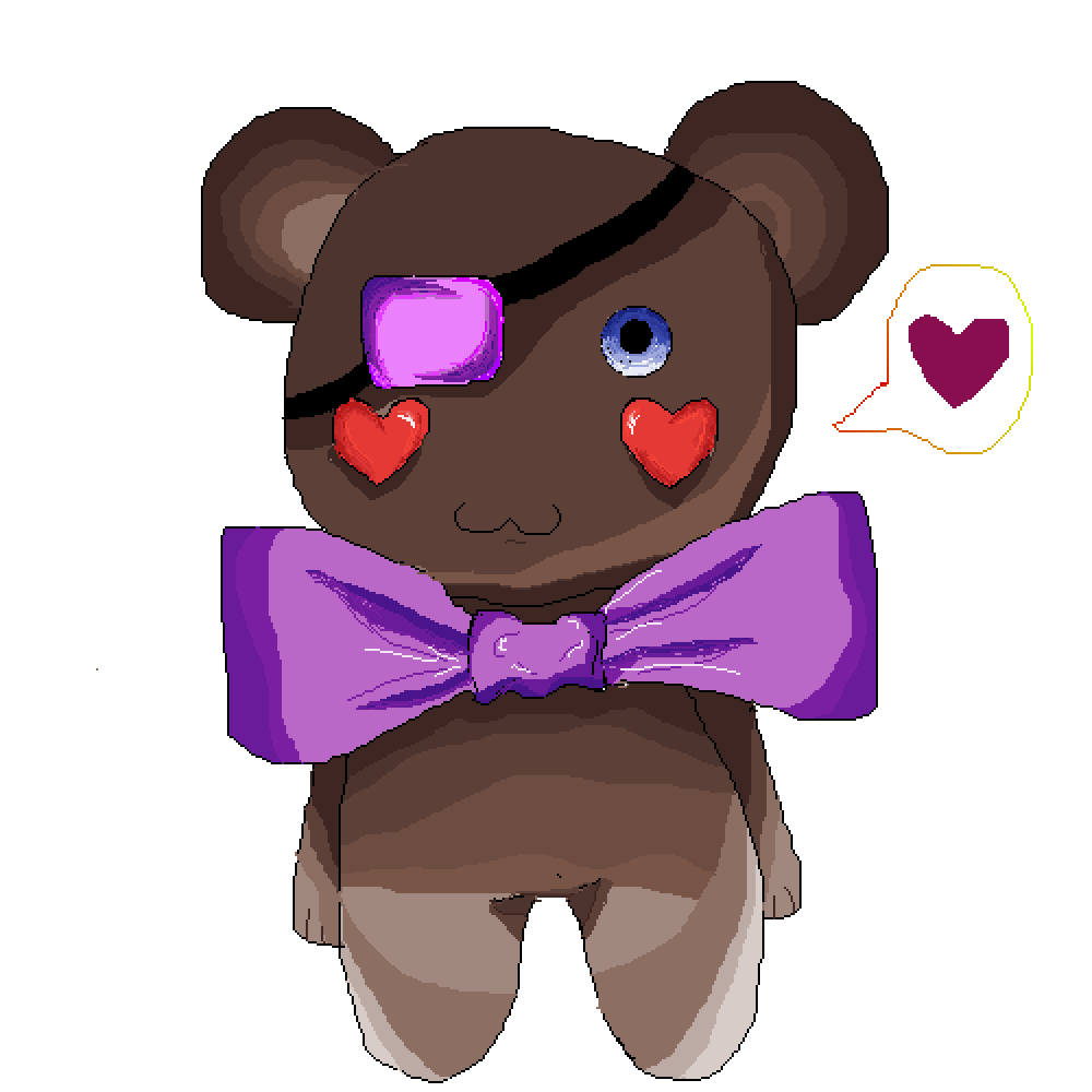Teddy bear by moonlanesan