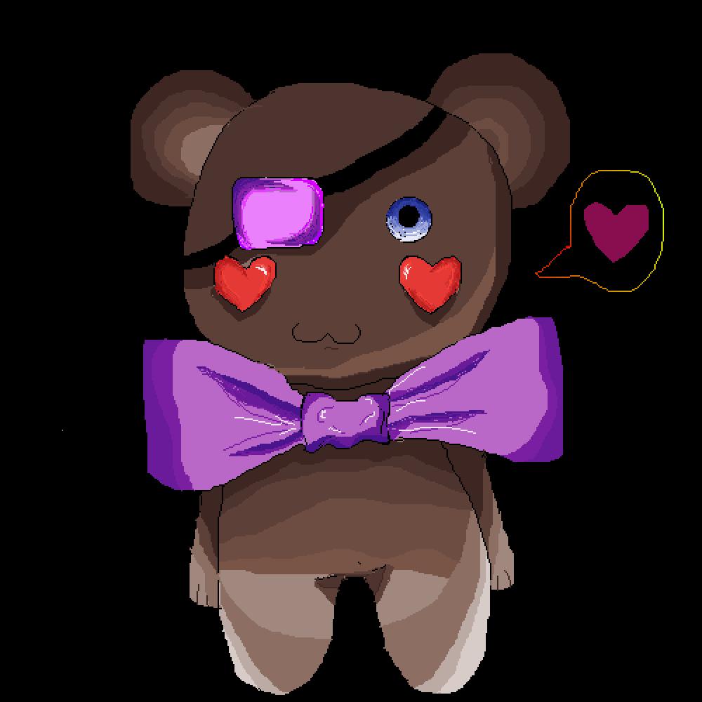 Teddy bear by moonlanesan