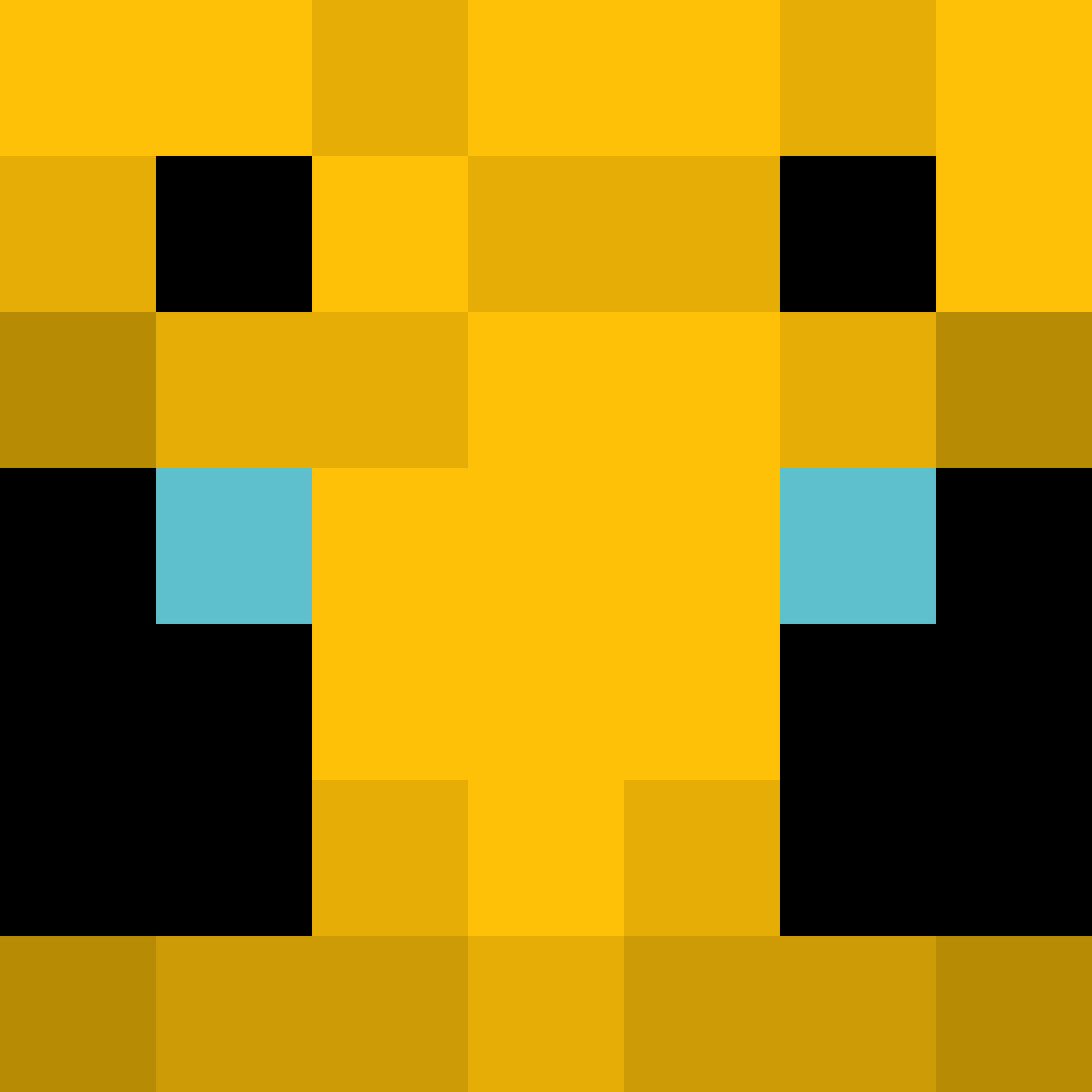 Pixilart Bee from minecraft by Novamations
