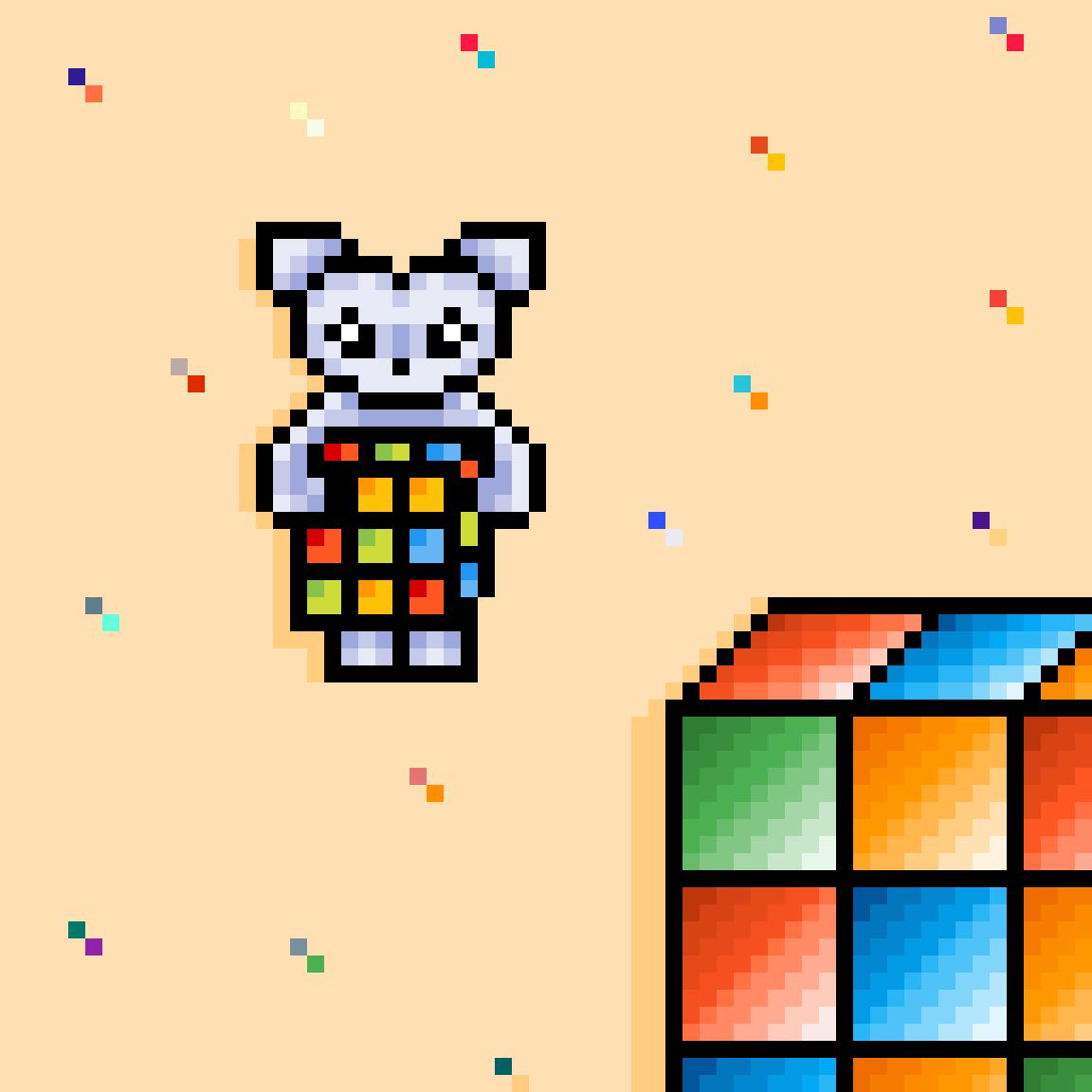 Cube monster by Terka58