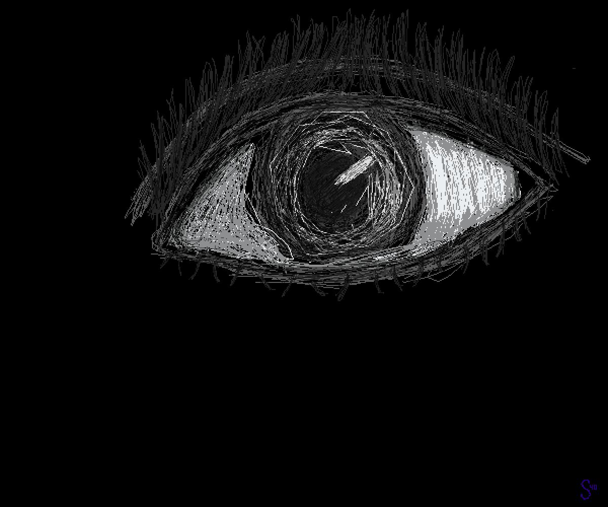 Pixilart Random Eye Sketch By Skewo