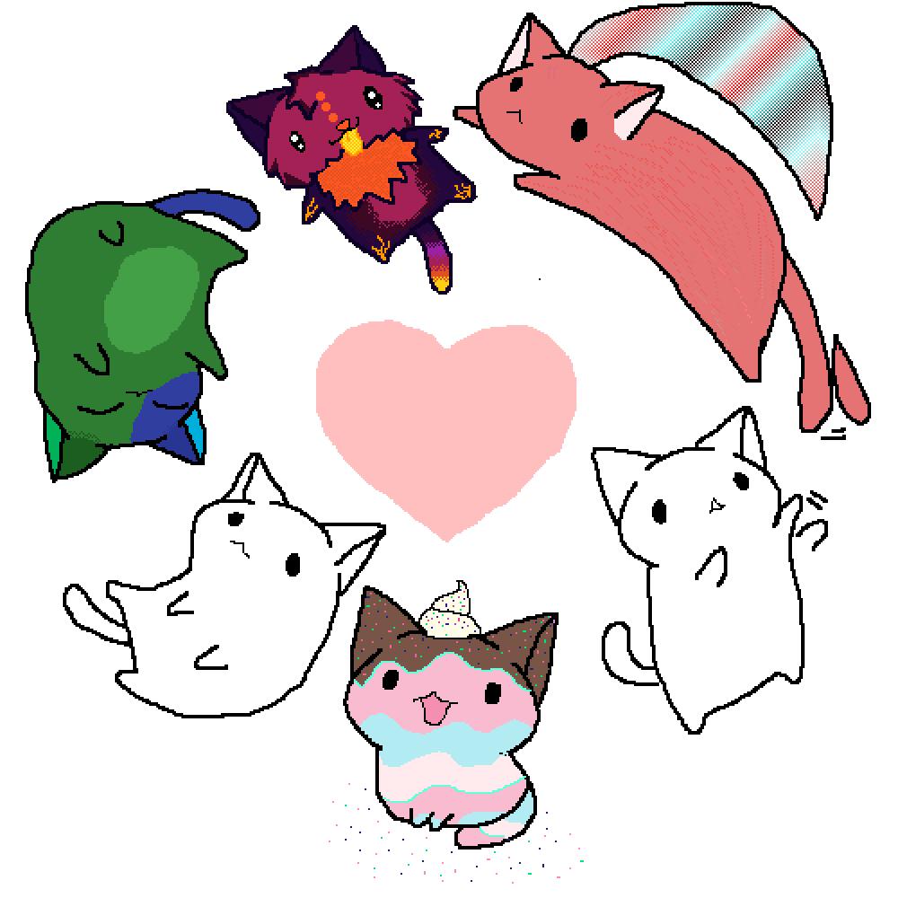 Cat Doodle by PrincessPika