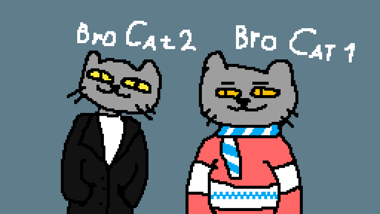 Bro Cats by Alexay