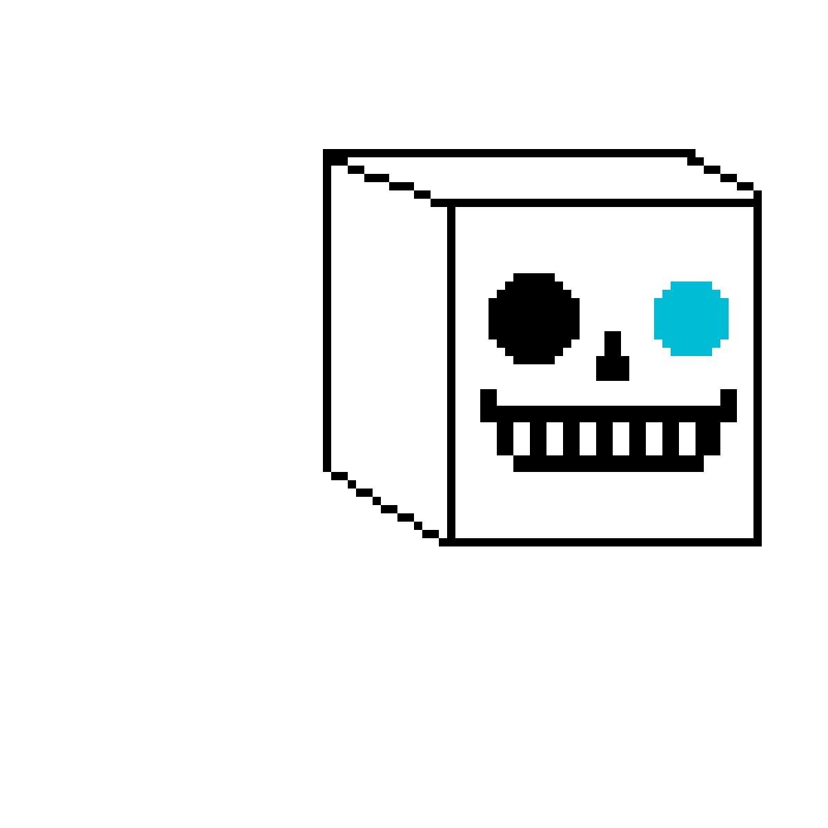 Sans box by Ultra-Doom