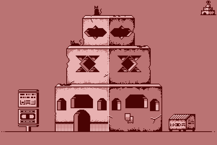 The Glutton Palace [4 colors]