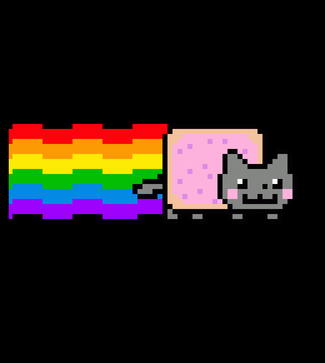 nyan cat by youngster