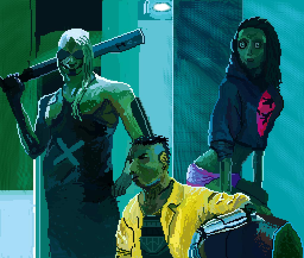 cyberpunk 2077 by emls