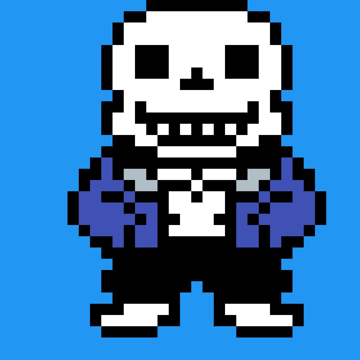 main-image-Sans 8-bit sprite  by Toastkid-Games