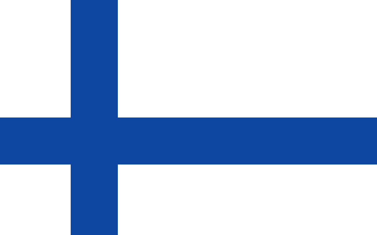 1. Finnish flag by TheHomicidalOne