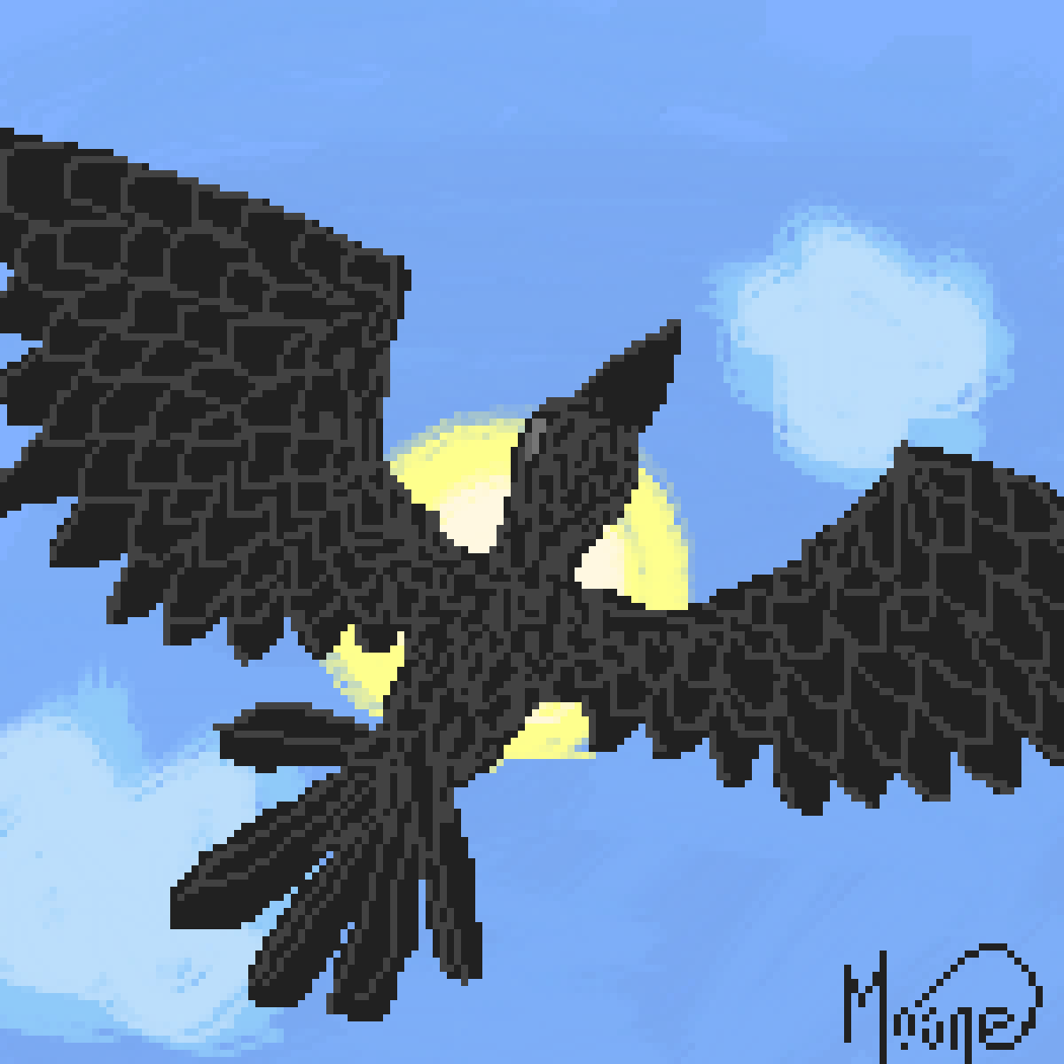 main-image-A bird! :3  by Moone101