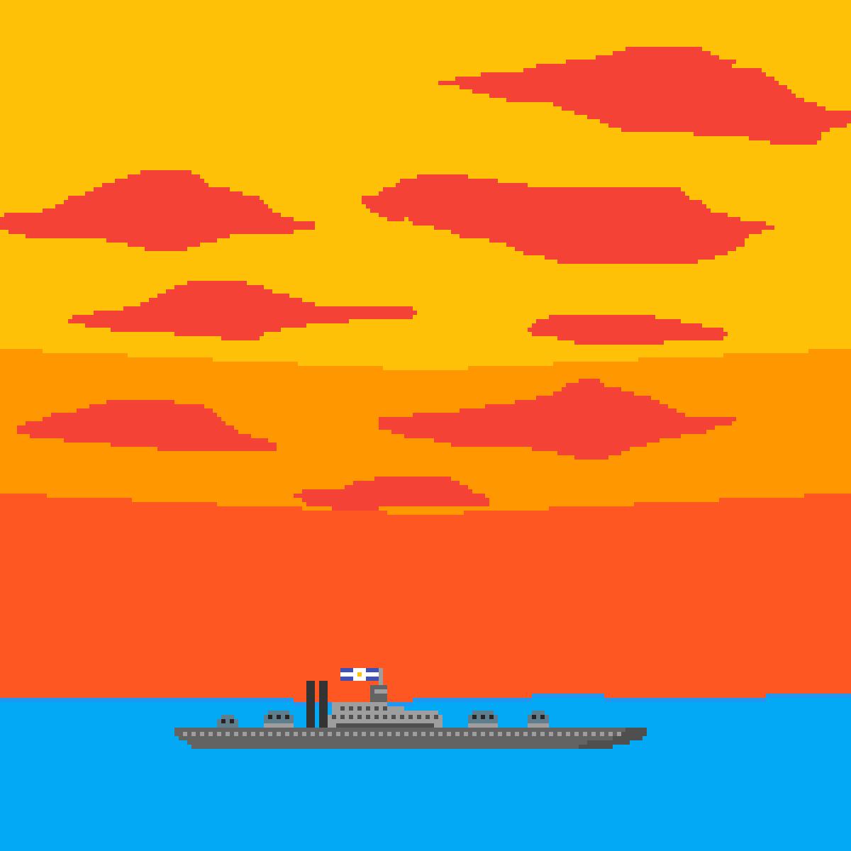 battleship  by LucasoDelta