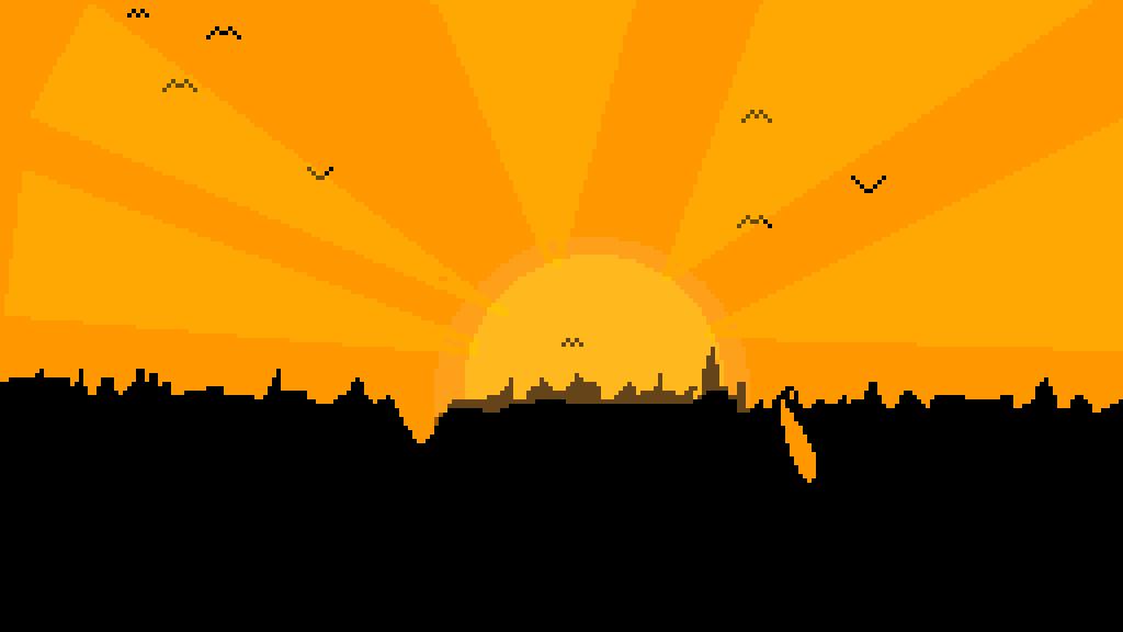 Sunset by Fox-Draws
