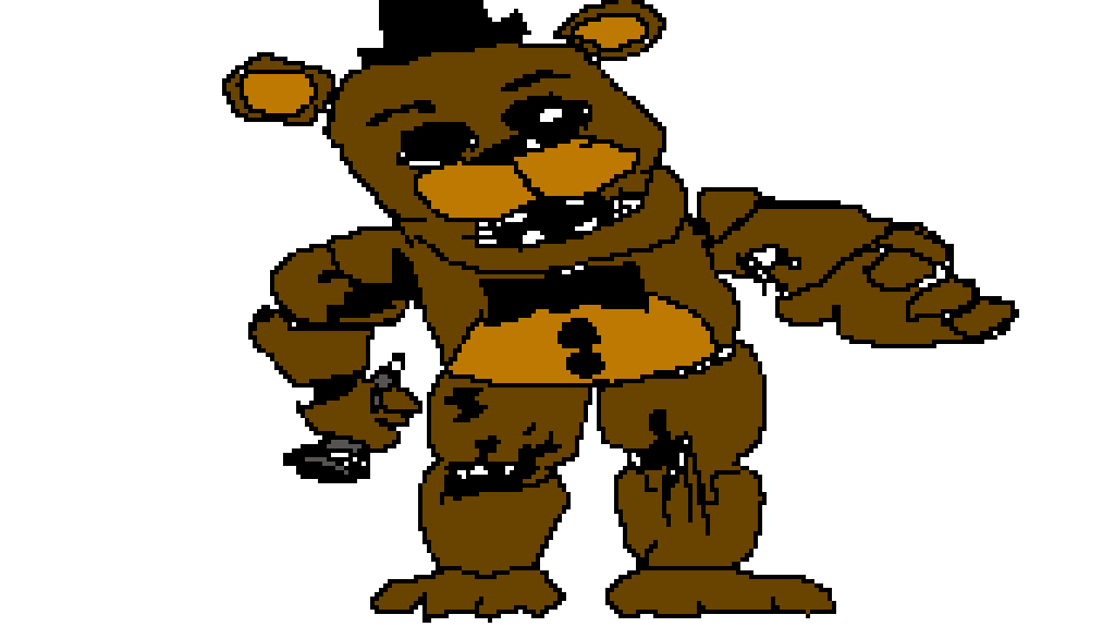Pixilart - withered freddy by carrotkoala123