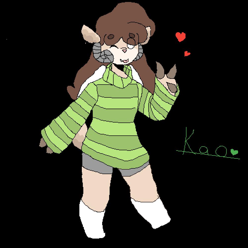 Kao!  by OwOUwUOwU