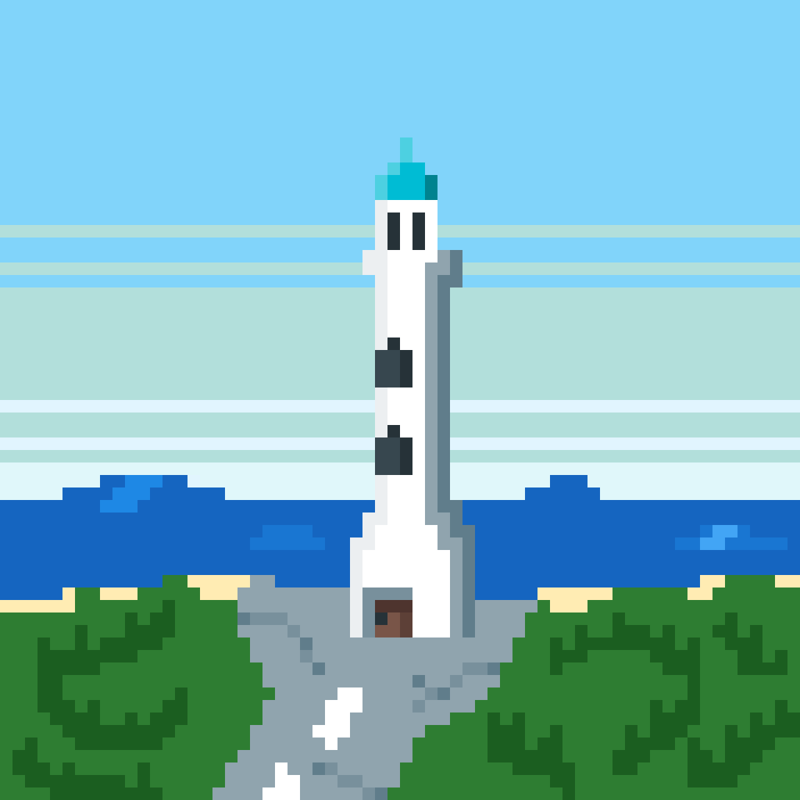 Lighthouse by Straded