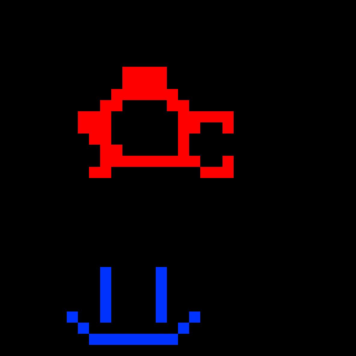 Pixilart Pixel Art Mushroom By Anonymous