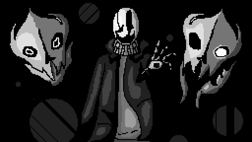 Gaster by BlueBarries