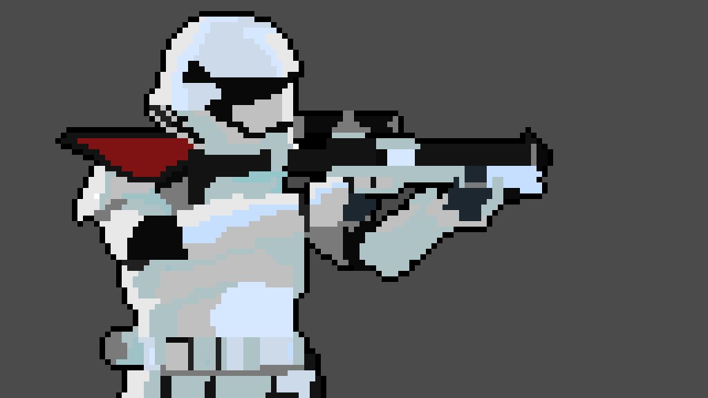 Pixilart Star Wars First Order Stormtrooper By Pixil Artist