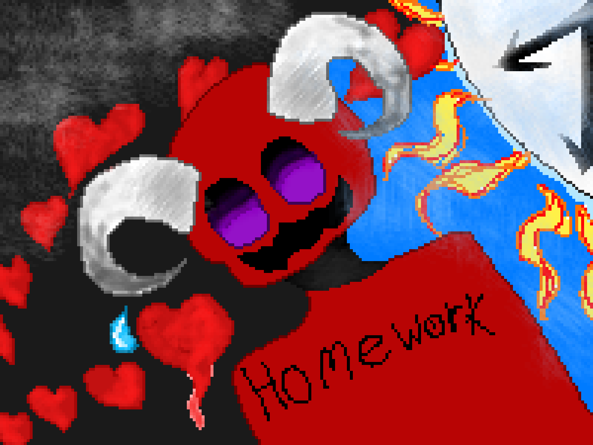 Homework, the consumer of souls time by emojigamer370