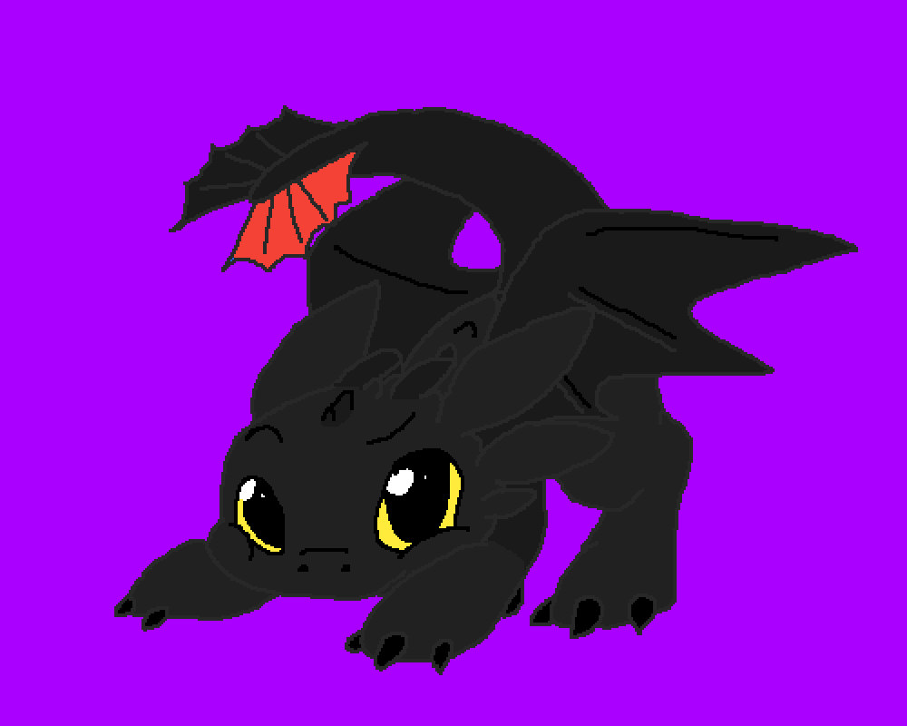 Toothless!!! by Dream-Sans33