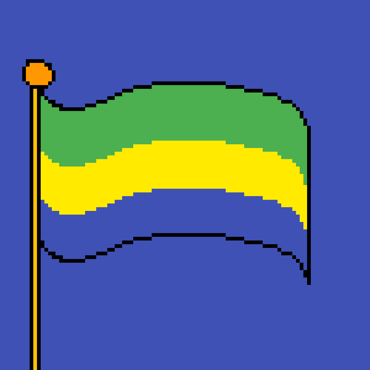 main-image-The flag of Gabon  by poison-darts317