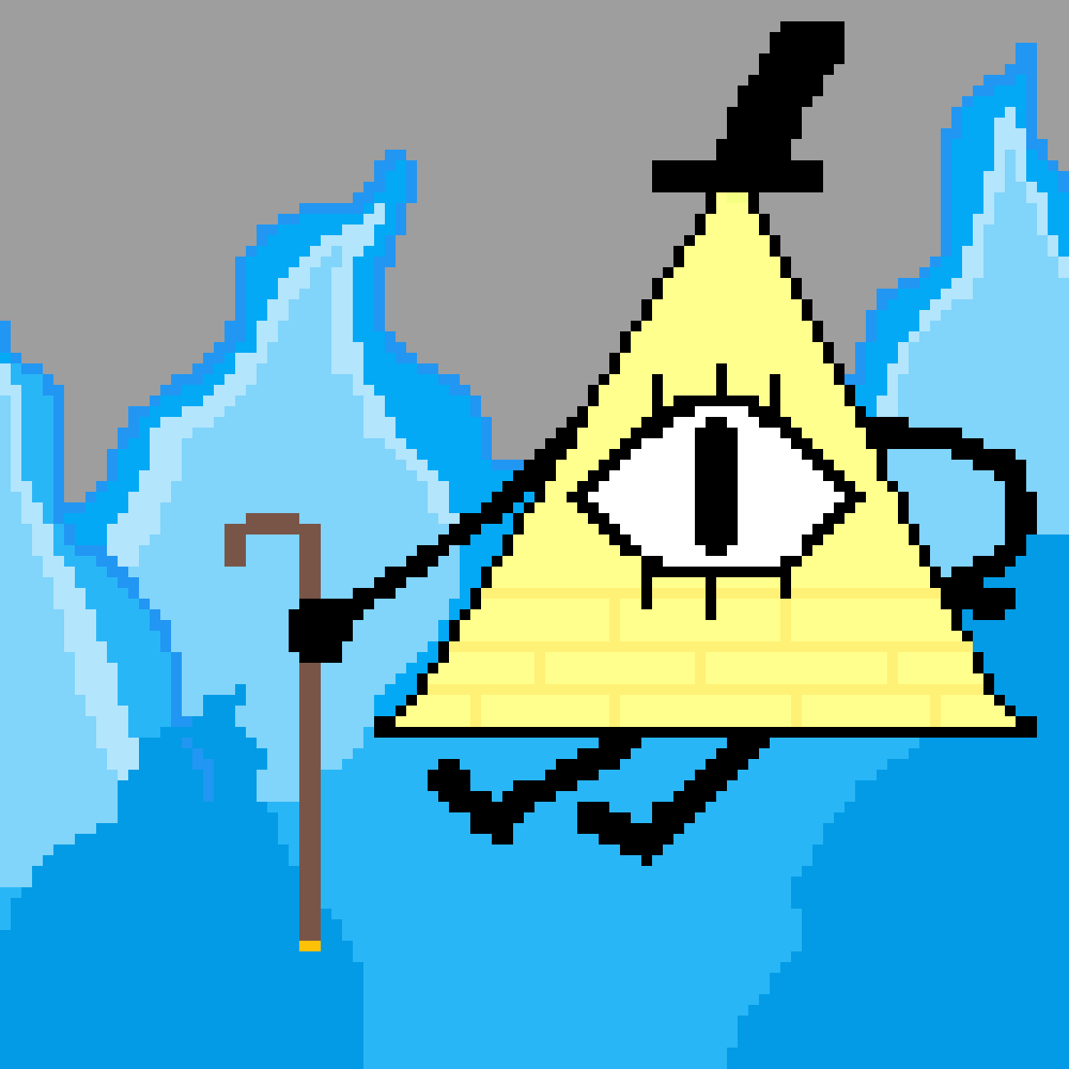 main-image-bill cipher  by doover