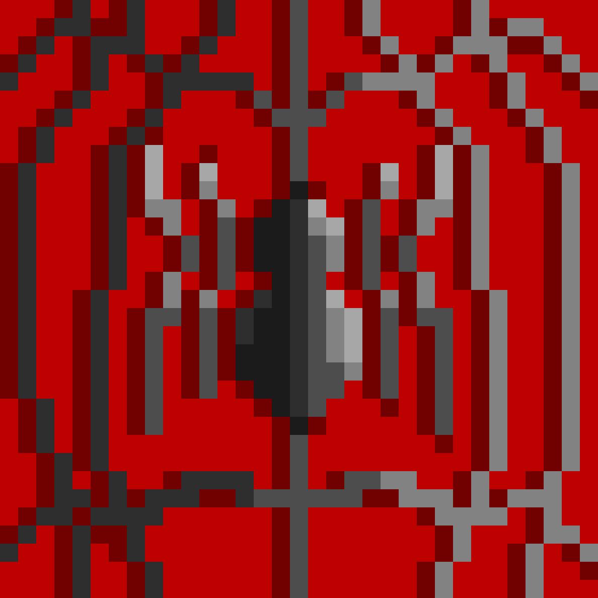 Pixilart Spider Man Symbol By Agard80 Bit