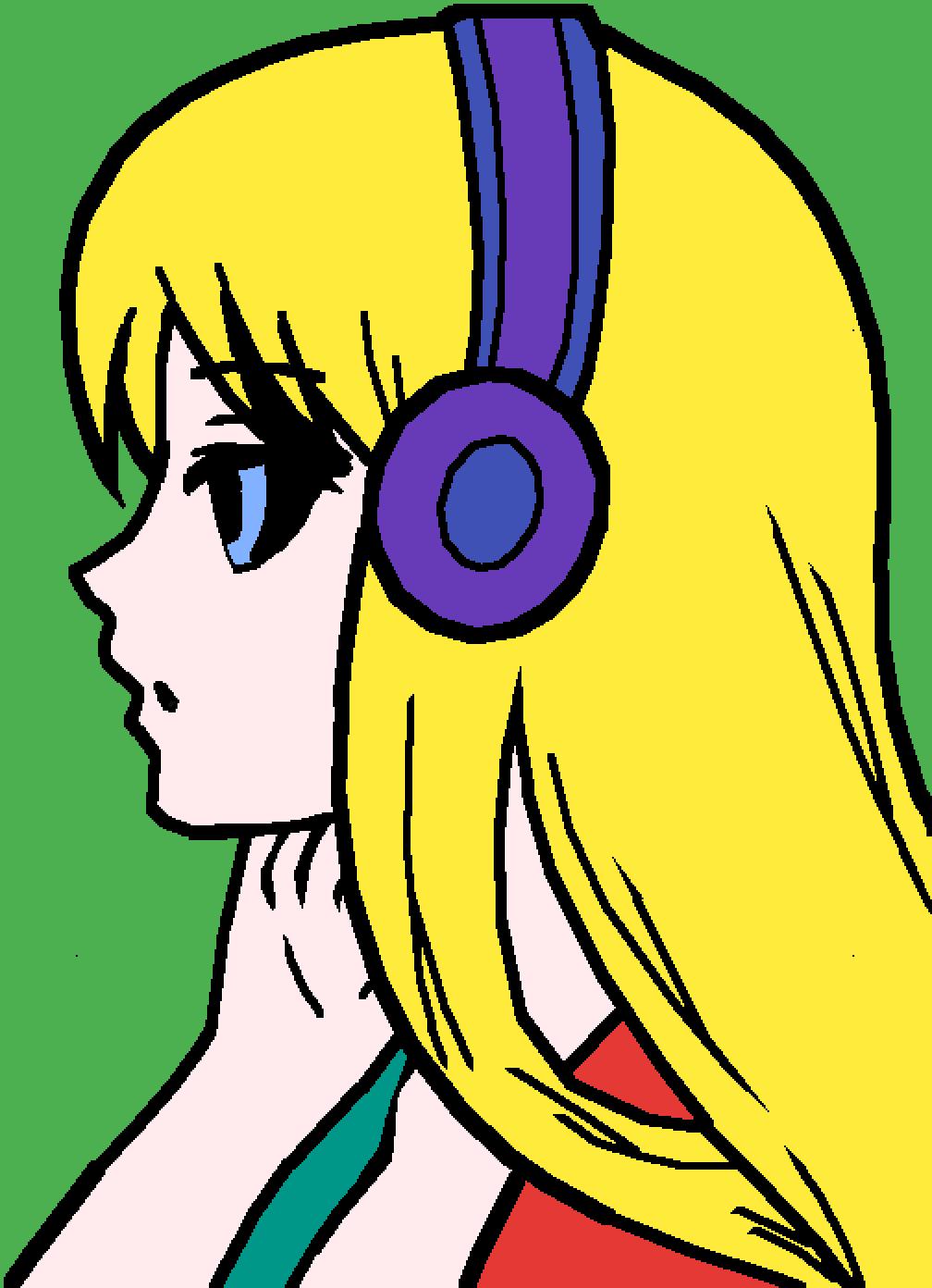 blondie by redflamewolf