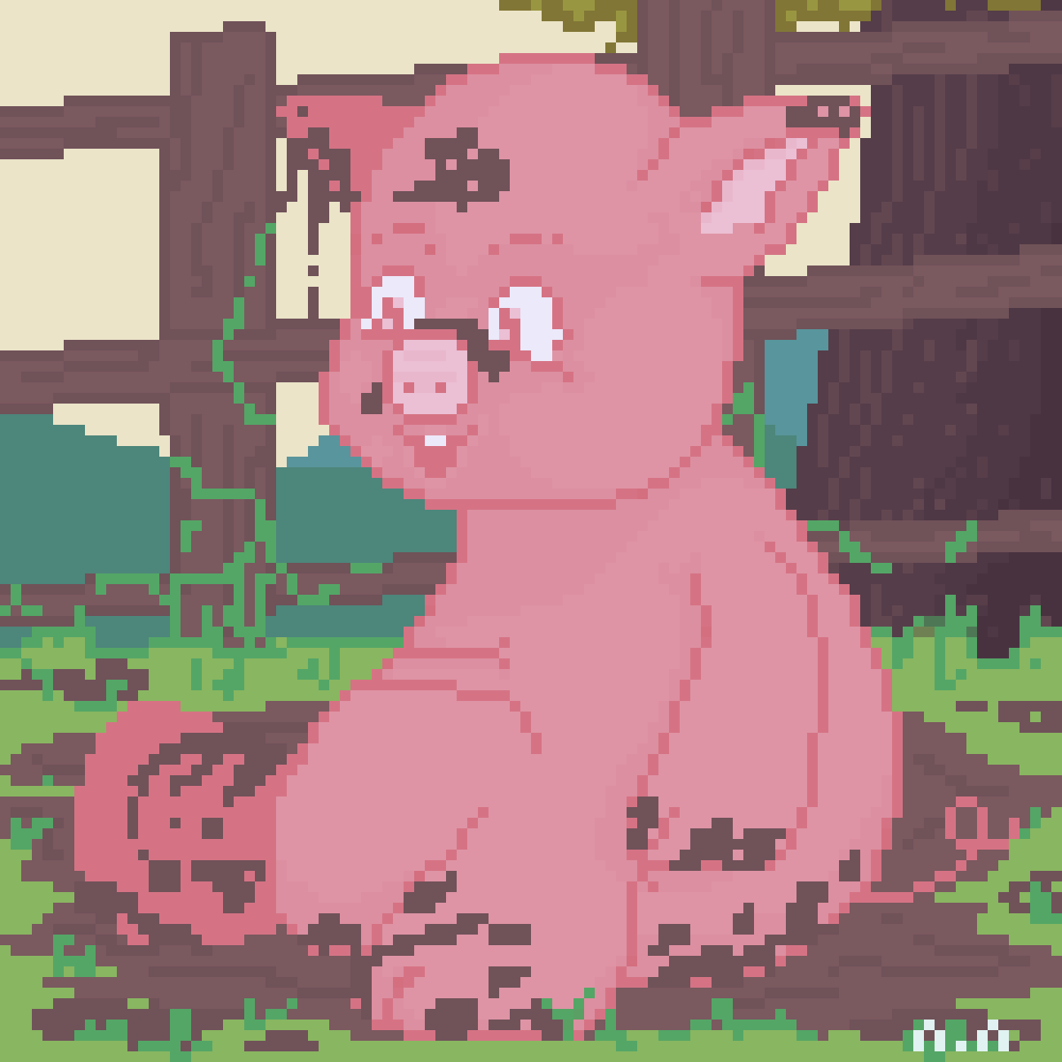 main-image-Happy Piggy  by PixFem