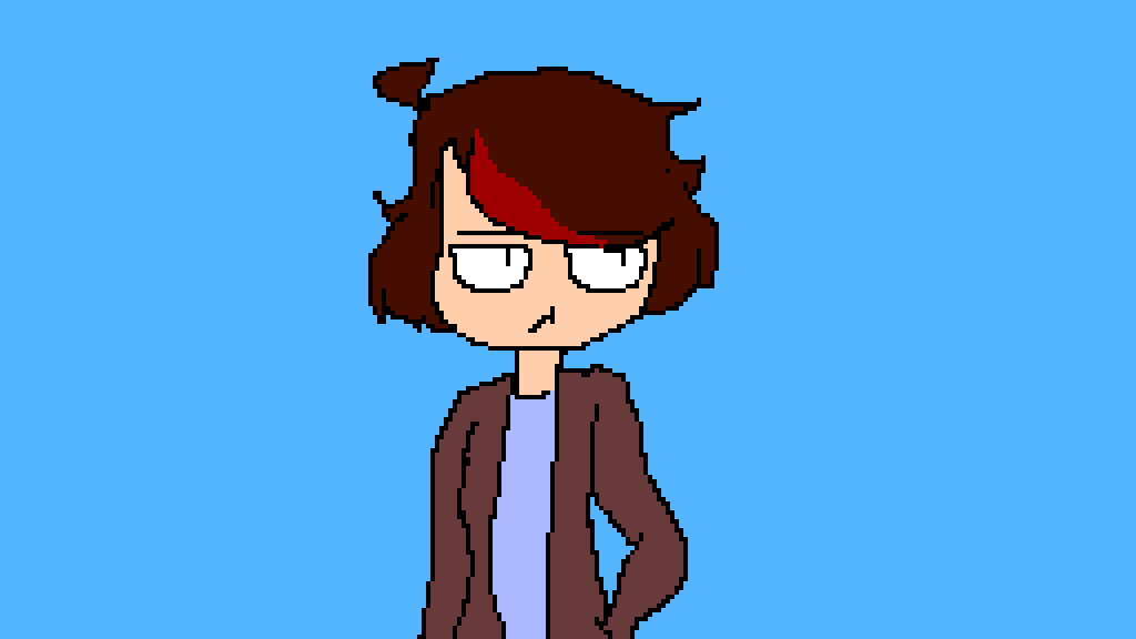 i tried to draw with a mouse- by RandomFandomKid