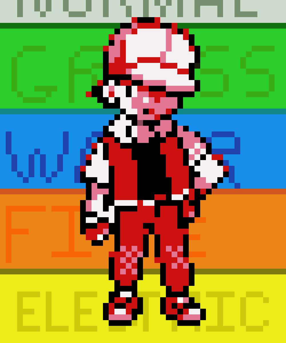 main-image-Pokemon Gold/Silver red  by GoldH2O